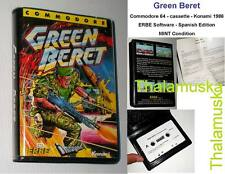 Green Beret.Konami.Imagine.Erbe Software.1986.Estuche.Commodore 64.C64