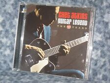 "CHET ATKINS CD ""GUITAR LEGEND THE RCA YEARS"" BUDDHA RECORDS DOUBLE CD SET"