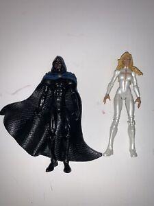"Marvel Universe 3 3/4"" Cloak and Dagger figures"
