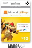 Nintendo $10 eShop Card USD 10 Dollar - Nintendo Switch/3DS/WiiU - USA USER ONLY