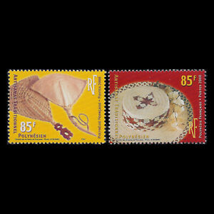 French Polynesia 2000 - Traditional Crafts - Sc 787/8 MNH