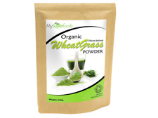 Organic Wheatgrass Powder (500 grams) Certified Organic Source of Vitamin E Calc