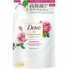 Dove Body Wash Botanical Selection Damask rose Refill 360 g Japan Import