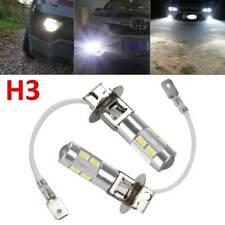 2X H3 3000K LED Scheinwerfer Birnen hohes Abblendlicht Auto Lights Leuchte Lampe