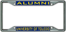 University of Toledo ALUMNI License Plate Frame