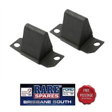 FORD FALCON XA XB XC XD XE XF WITH REAR LEAF SPRINGS AXLE BUMP STOPS PAIR (2)