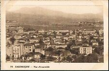 FRENCH POSTCARD Thessaloniki A Panoramic view of the city c1915 - perf