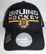 7c257a13245 Boston Bruins Flex Fit Size Small Medium S M Reebok Center Ice NWT Authentic