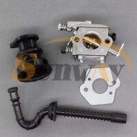 Carburateur WT-286 pour STIHL 021 MS210 023 MS230 025 MS250 + Tuyau d'admission