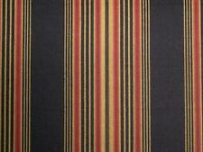 Waverly Sweetwater Stripe Onyx Black Home Decor Drapery Upholstery Fabric Bty