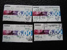 NORVEGE - timbre yvert et tellier n° 1250 x4 obl (A30) stamp norway