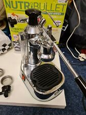 La Pavoni Europiccola Chrome Lever Coffee Machine - UK Plug -