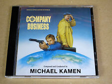 CD soundtrack O.S.T. Company Business Michael Kamen / Intrada MAF 7013D USA