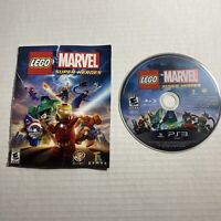 LEGO Marvel Super Heroes for PlayStation 3 (PS3) Disc Only W/manual Video Game