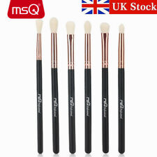 UK DELIVERY Pro 6PCs Eye Makeup Brush Sets Eyebrow Eyeshadow Synthetic Brush MSQ