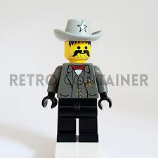 LEGO Minifigures - 1x ww021 - Sheriff - Western Cowboys Omino Minifig 6764 6765
