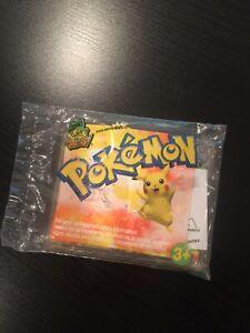 NEW Pokémon Card Lugia Wendy's Kids Meal Toy 2002 Nintendo Compass Pocket Clip