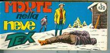 Tex raccoltina serie bianca n.108!! Morte nella Neve!! Edicola!!