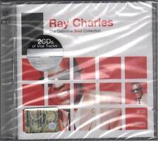 Ray Charles DOPPIO CD The Definitive Soul Collection Nuovo Sig. 0081227766429