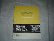 MASSEY FERGUSON MF3165 MF 3165 Turf Special Tractor Operator's Manual