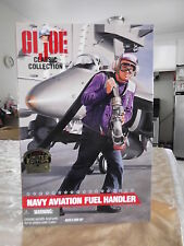 "GI Joe Navy Avation Fuel Handler ""Black"" 12""in Figure 1997 Classic Collection"