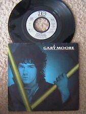 """GARY MOORE """"FRIDAY ON MY MIND"""" / """"REACH FOR THE SKY"""" 7"""" PICTURE SLEEVE 45 UK IMP"""