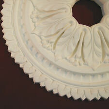 Ceiling Rose Ceiling Center Made From Fine Plaster for Renovations Restorations