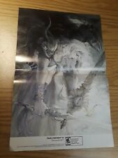 Final Fantasy IV/New Super Mario Bros 15.5''x11.5'' Double Sided Poster Nintendo