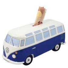 VW T1 CAMPER VAN Classic Blue Money Bank Box BUMB22