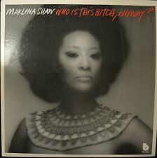 """MARLENA SHAW """"Who Is This Bitch,Anyway!""""  Blue Note BN-LA 397-G VG+ Jazz LP"""