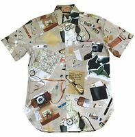 Paul Smith  Short Sleeve Travel Map shirt