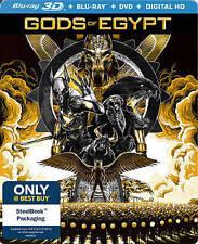Gods of Egypt Steelbook 3D Blu-ray Brand New