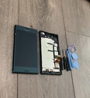 FOR SONY XPERIA XZ PREMIUM G8141 G8142 4K IPS LCD SCREEN DIGITIZER FRAME UK