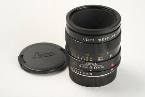 Leitz Leica Macro-Elmarit-R 2,8/60 Nr. 3279591, 2x Deckel