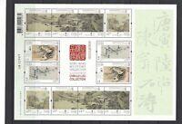China Hong Kong 2020 Mini S/S Museum Collection Painting stamps Zhang Daqian