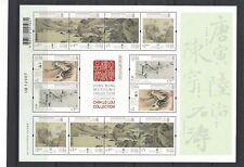China Hong Kong 2020 Mini S/S Museum Collection Painting stamp Zhang Daqian