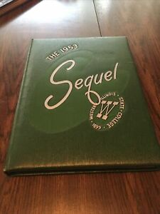 """Western Illinois State College Yearbook """"The Sequel"""" 1953"""