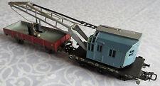 Märklin H0 Schienenkran Kran 315/2 mit Ausleger Kranwagen + Niederbordwagen