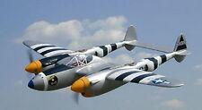 P-38 P38 Mama's Boy Lightning Wood Model Plane BIG Free Shipping
