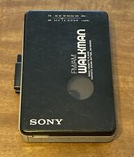 Sony Walkman Radio & Cassette Player WM-AF22 Fully Functional Vintage