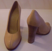 CHARLES JOURDAN Designer Paris Tan Pump Heels Court Shoes Size EU 38 UK 5 US 7