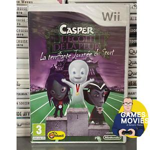 CASPER NINTENDO WII GIOCO NUOVO SIGILLATO CON ITALIANO ORIGINALE DVD CD
