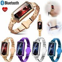 2019 Bluetooth Smartwatch Pulsmesser Nachrichten Erinnerung für iPhone Samsung