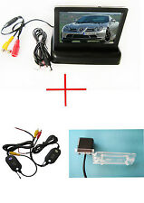Wireless 4.3'' Car Monitor Reverse Camera for VW Caddy Jetta Sagitar Passat Golf