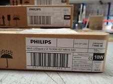Phillips LEDspotLV D 10-50Watt 827 MR16 24D GU5.3 Box Of 10 Dimmable Lamps