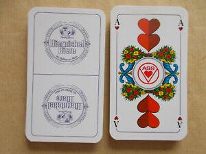 Schafkopfkarten Schafkopf Brauerei Hiernickel Biere Kartenspiel Spielkarten