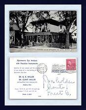 OHIO DELPHOS G.K. & CLINT MILLER OPTOMETRIC EYE CLINIC 24 JAN 1952  FOREST, OHIO