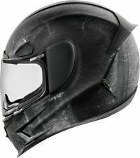 Icon Airframe Pro Construct Matt Black Motorbike Motorcycle Helmet MEDIUM