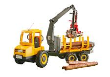 Playmobil maquina camión maderero transporte Cargadora madera Ref 6538