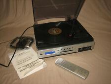 Auvisio PX-3031 Kompaktanlage USB MP3-Plattenspieler SD-Stecklatz FB